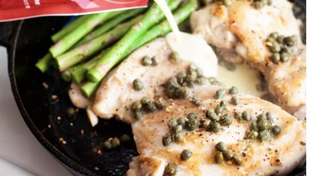 Image of Creamy Keto Skillet Chicken Dinner