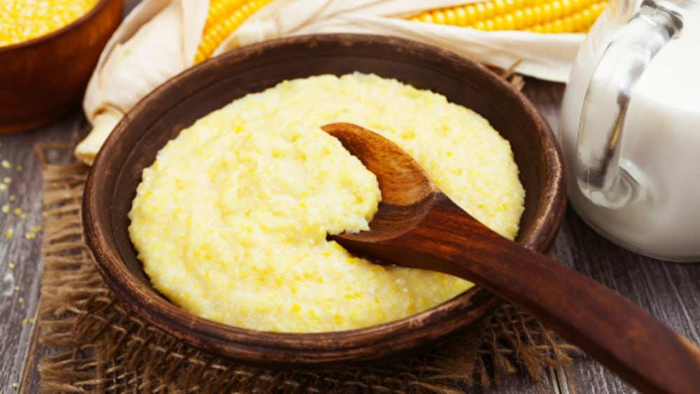 Image of Creamy Polenta with Goat Cheese