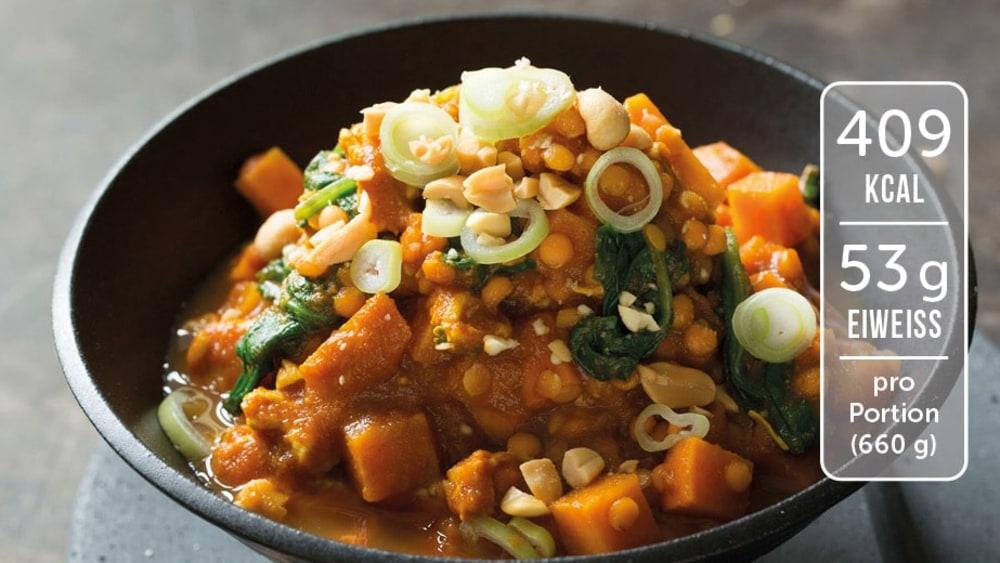 Image of Linsen-Curry mit Hähnchen