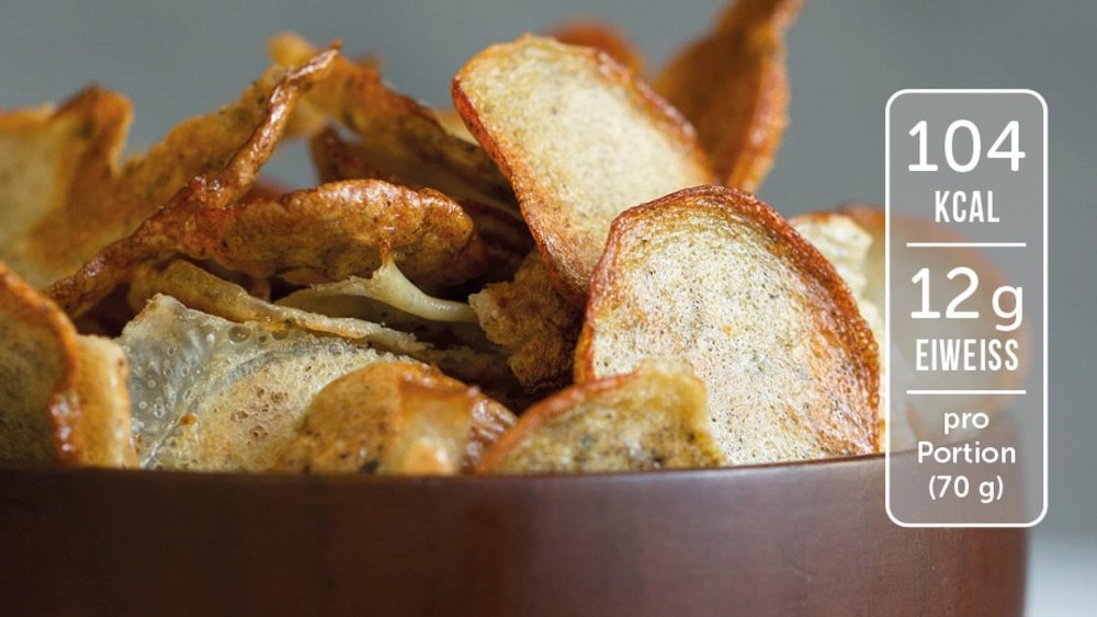 Image of Selbstgemachte Parmesan Chips