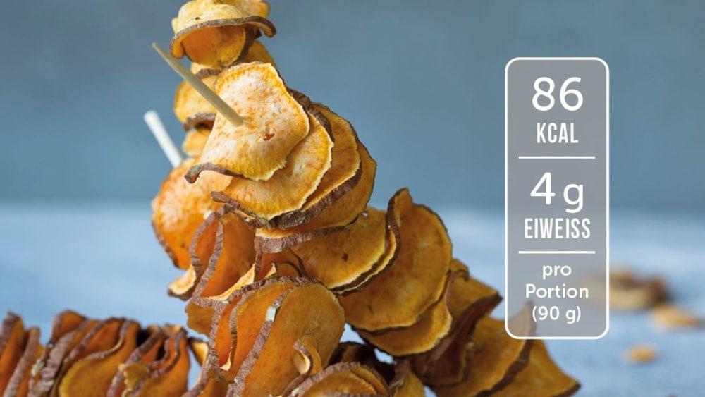 Image of Fettarme Süßkartoffelchips