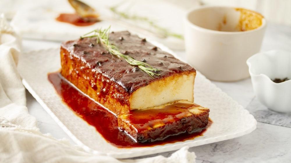 Image of Tofu laqué festif