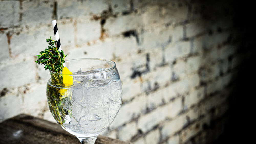 Image of Mallorcan G&T with Lemon & Fresh Thyme