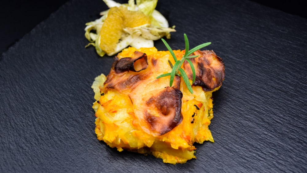 Image ofKürbis-Kartoffel-Gratin