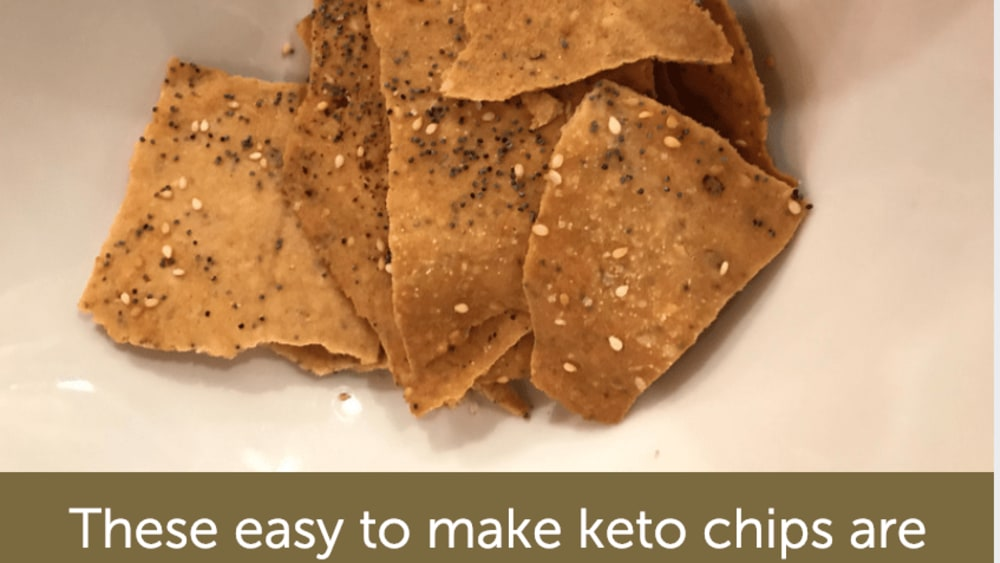 Image of Holly's everything keto chips