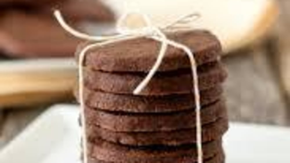 Image of Paleo Keto Mocha Shortbread Cookies