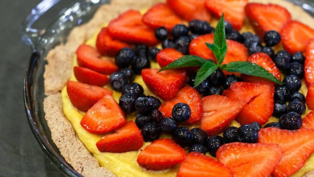 Image of Know Brainer Keto Lemon Tart