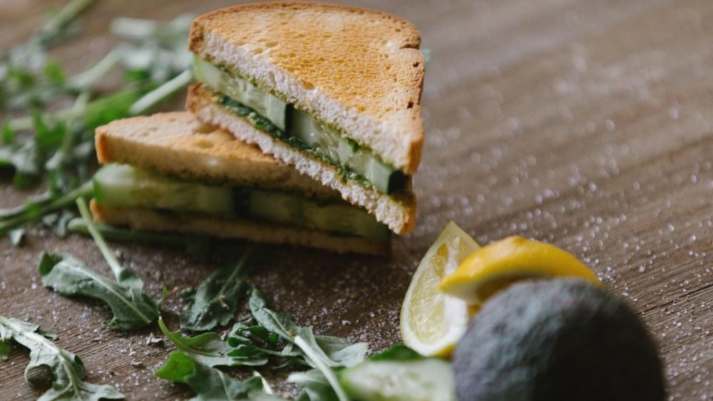 Image ofCreamy Chickpea & Avocado Sandwich