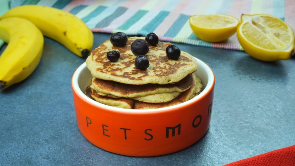 Image of DIY Pup-Worthy Pancakes for Dogs Recipe