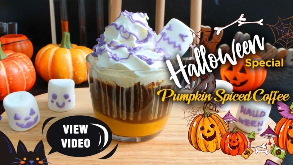 Image of 👻 Halloween Special: Pumpkin Spiced Coffee with Senz V™