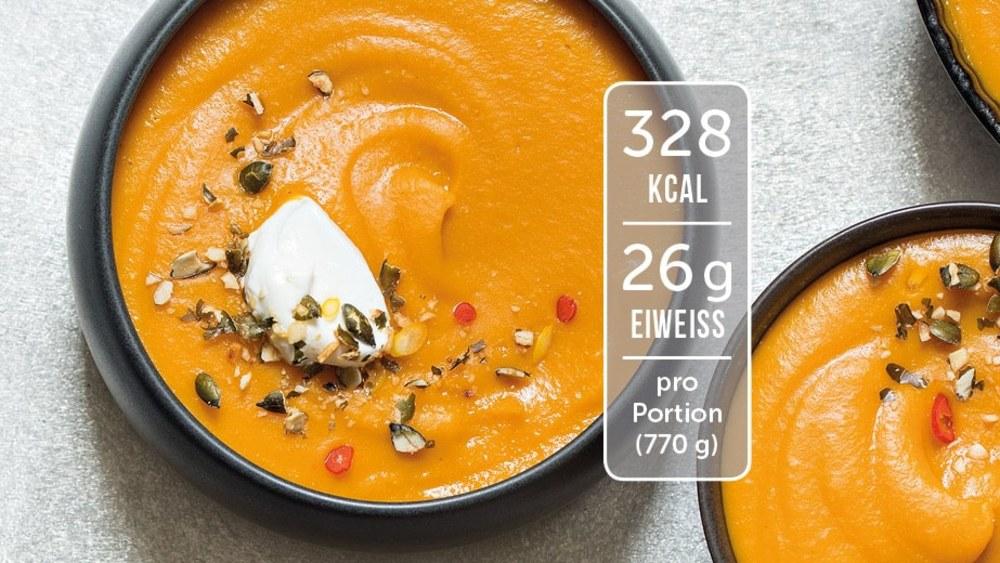 Image of Fruchtige Kürbissuppe