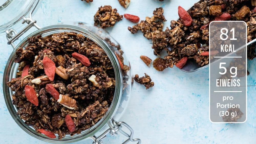 Image of Zuckerfreies Knuper-Granola mit Lebkuchengeschmack