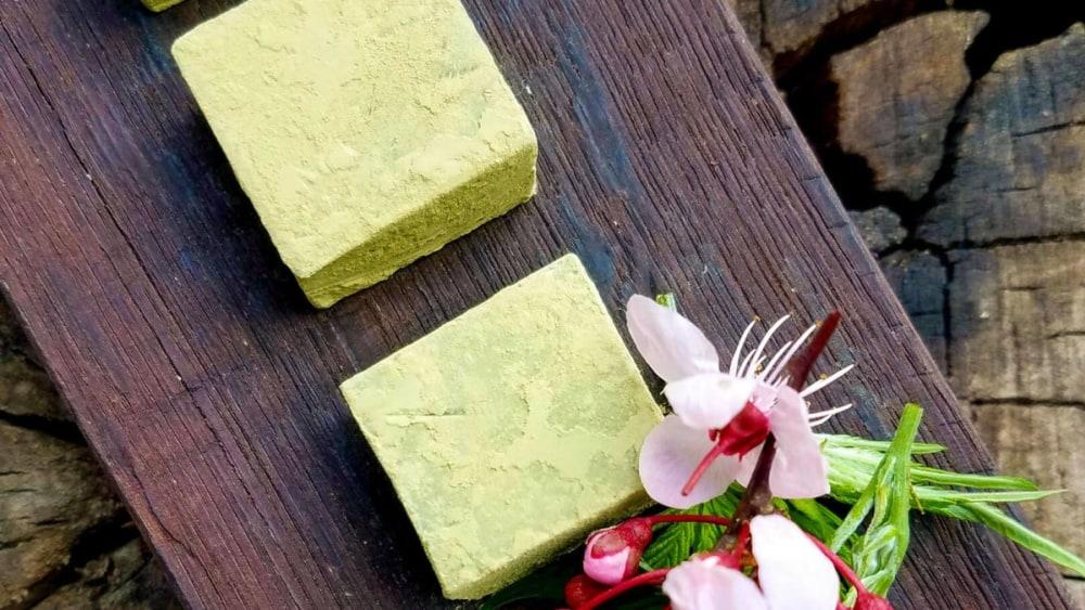 Image of Green Tea White Chocolates