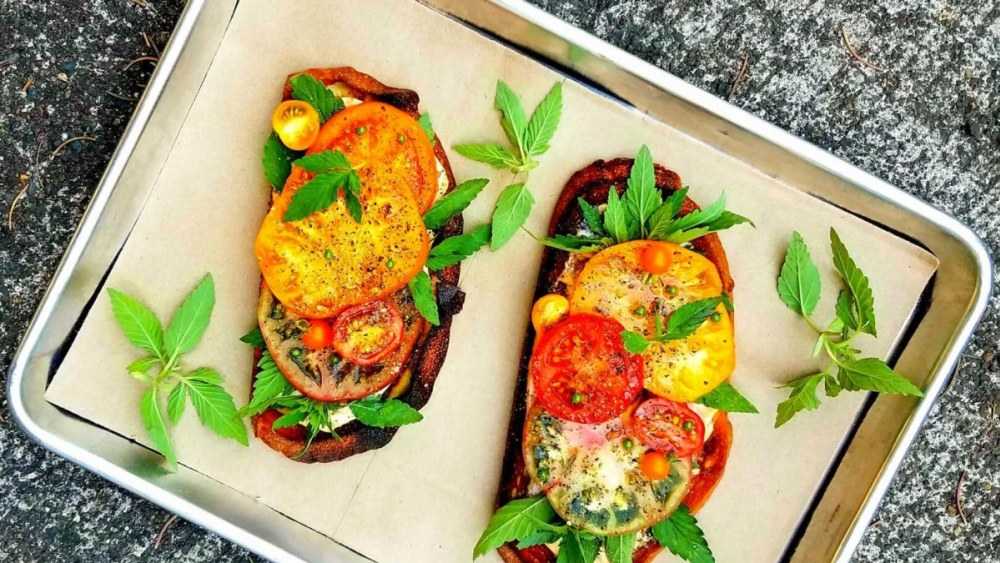 Image of Heirloom Tomato Toast