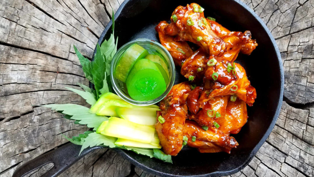 Image of Smokey BBQ Whiskey Wings