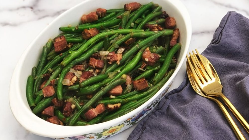 Image of Green Beans and Smoked Lardons