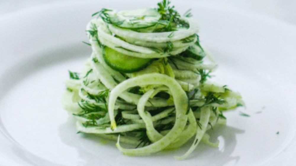 Image ofCucumber and Fennel Salad with Dill