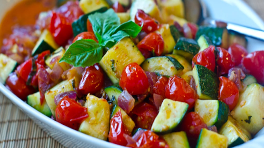 Image ofSauteed Zucchini and Cherry Tomatoes