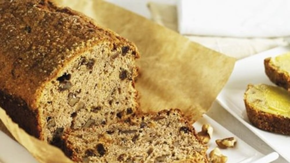 Image of Banana & Walnut Loaf with Brown Sugar Butter