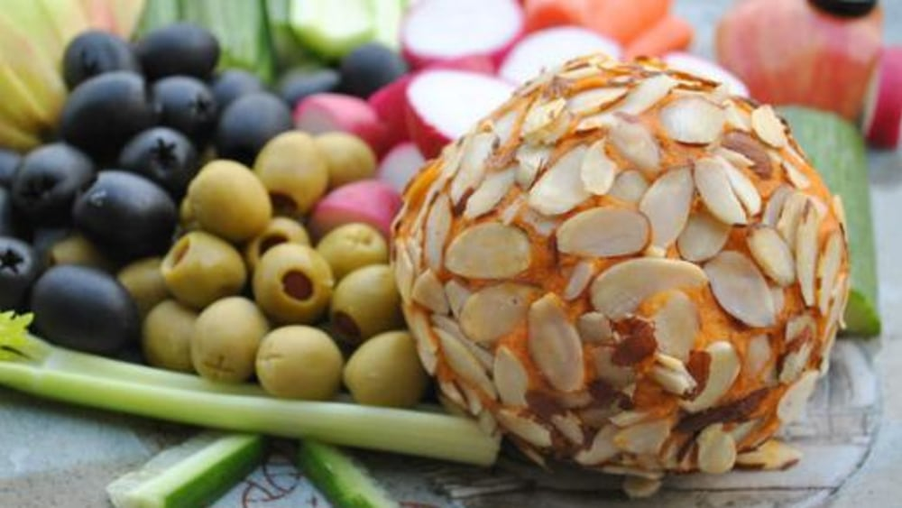 Image of Vegan Holiday Cheese Ball