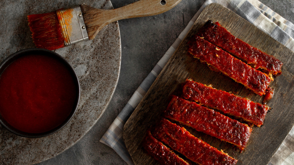 Image of Côtelettes de tempeh BBQ