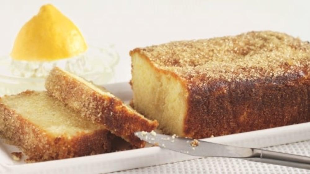 Image of Gluten-free Lemon drizzle Cake