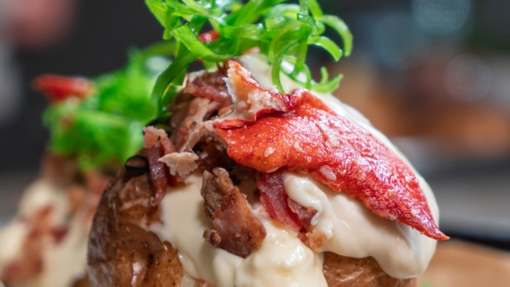 Image of Lobster Double Stuffed Baked Potatoes