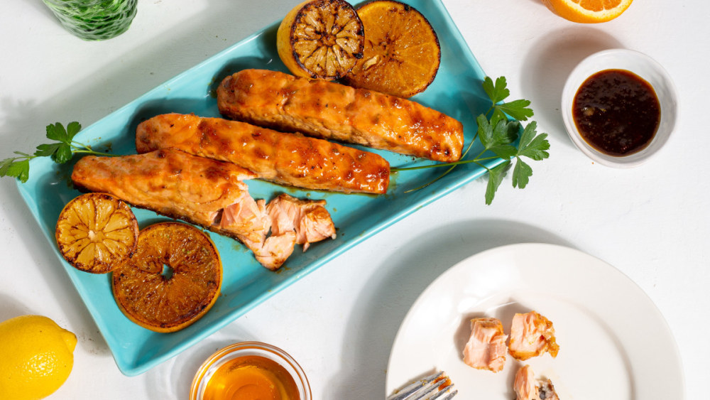 Image of Citrus Honey Glazed Salmon