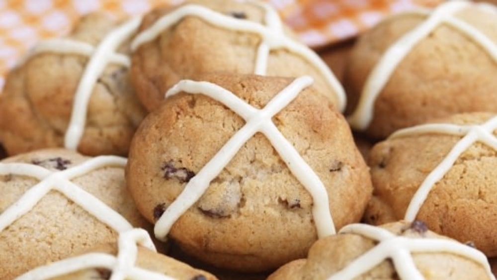 Image of Hot Cross Cookies