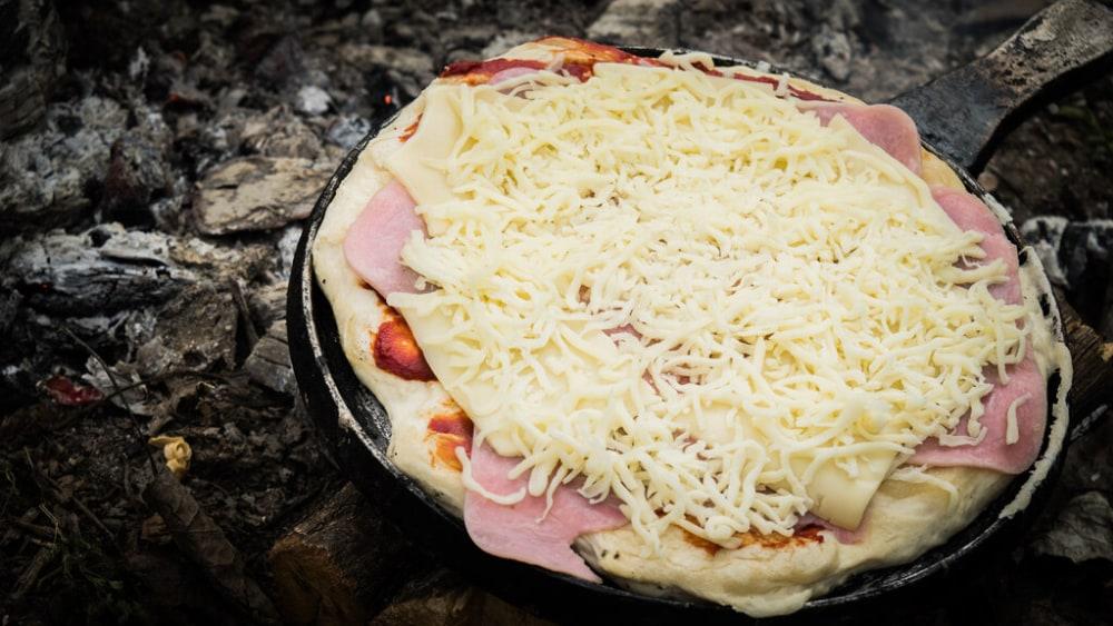 Image of Campfire Pizza: A Delicious Dutch Oven Recipe