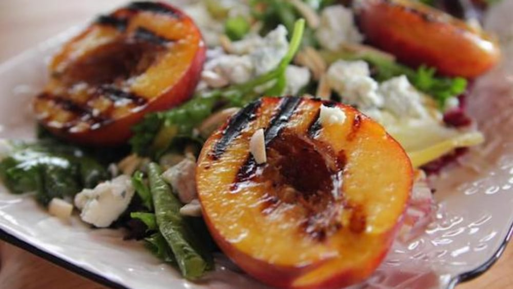 Image ofGrilled Nectarine Salad