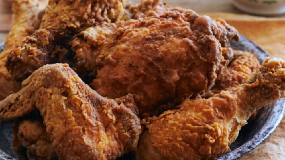 "Image ofHealthy ""Fried"" Chicken"