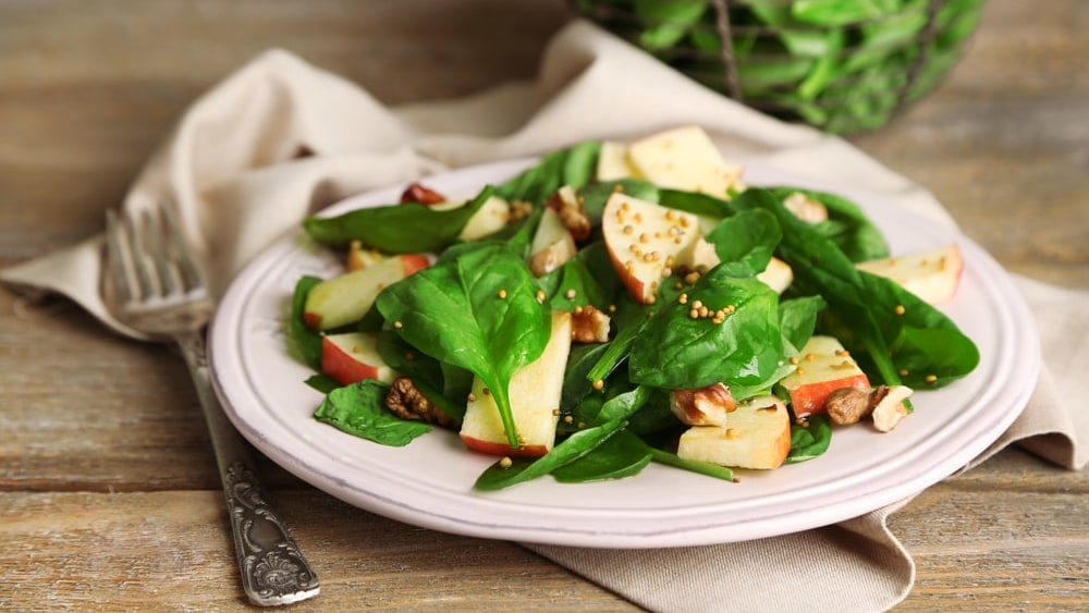 Image of Spinach Apple Winter Salad