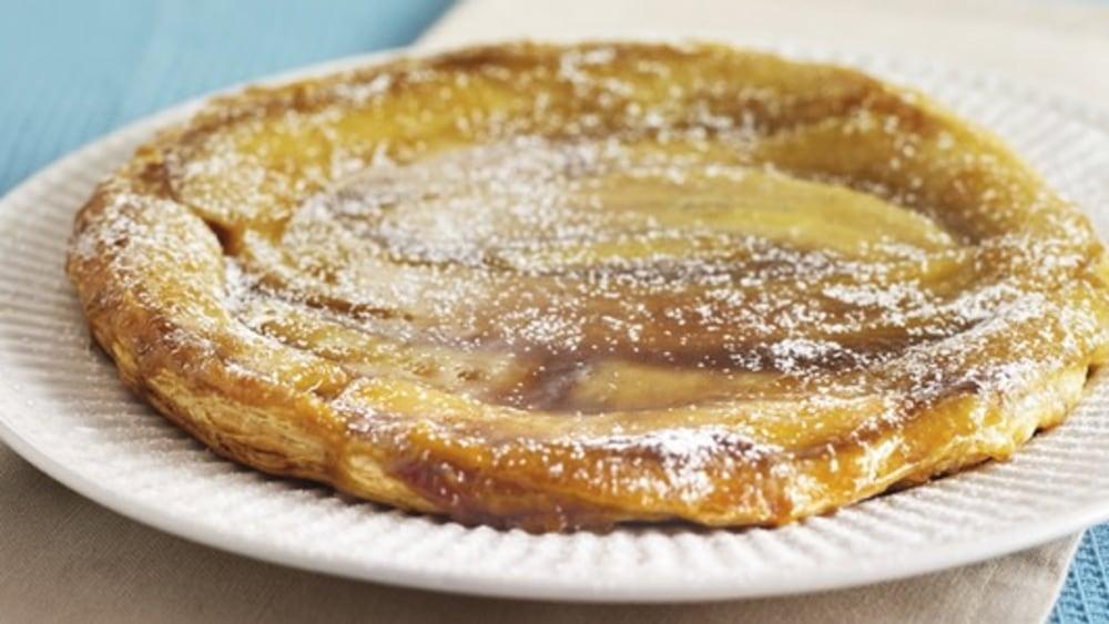 Image of Sticky Banana Puff Pastry Tart