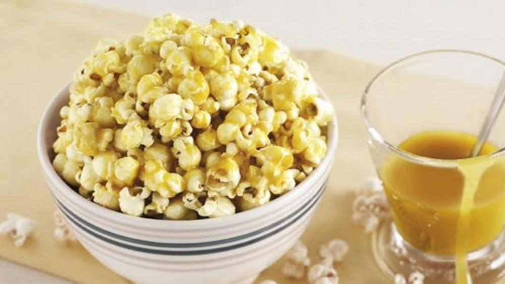 Image of Homemade Toffee Popcorn