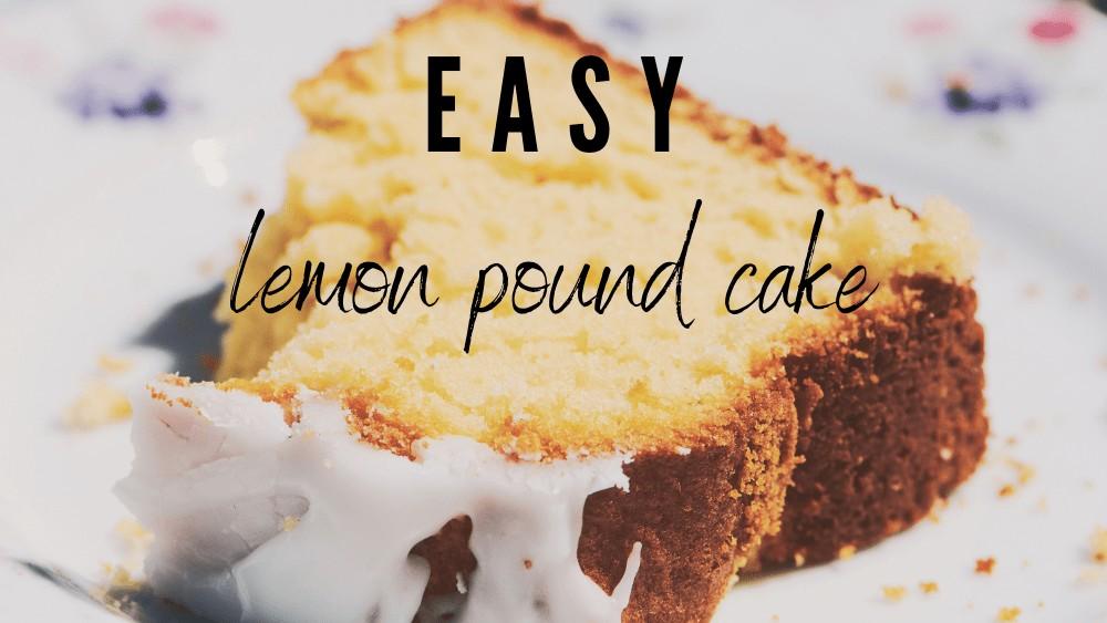 Image of The Best Lemon Pound Cake