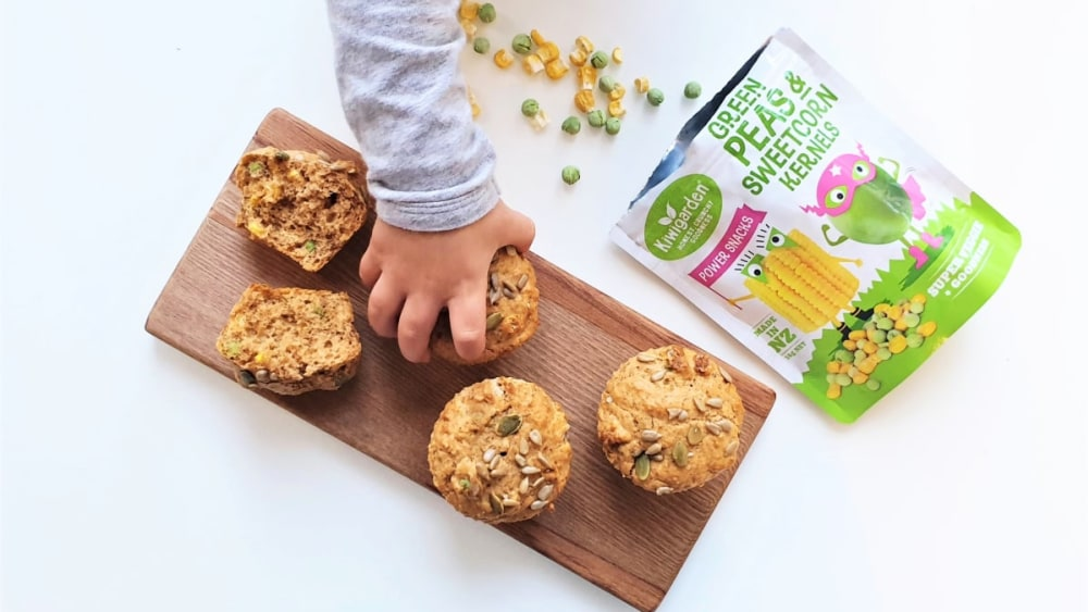 Image of Freeze-Dried Peas & Corn Power Muffins