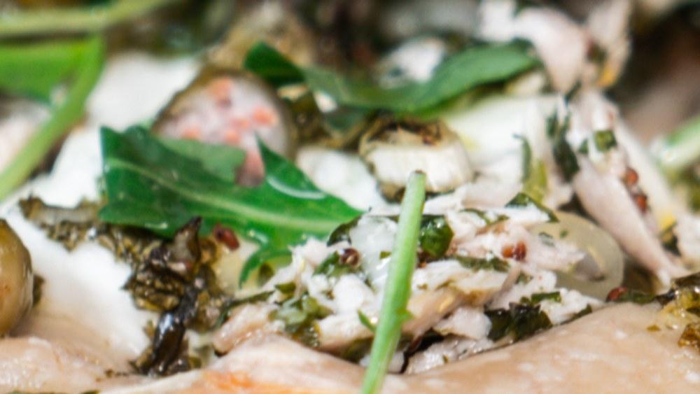 Image of Tuna Pizza Blanco