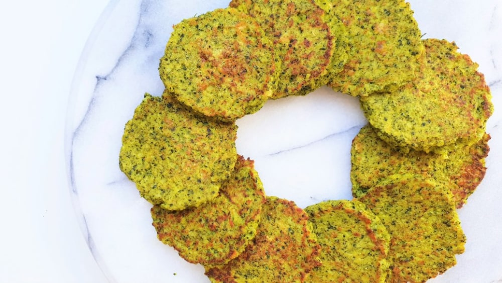 Image of Cheese Broccoli Fritters