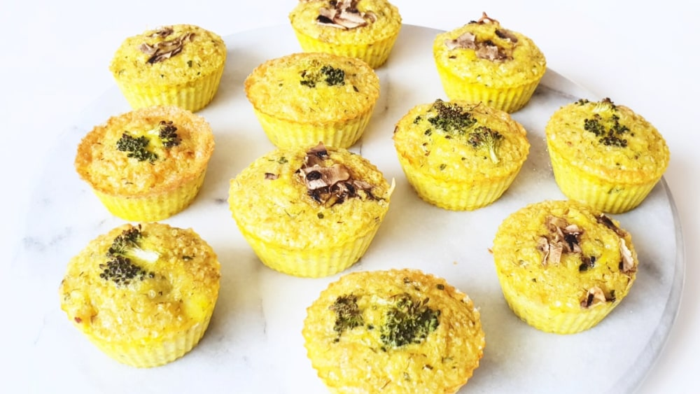 Image of The Power of Two Eggy Quinoa Cups