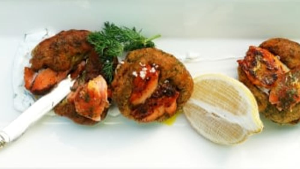 Image of Trout And Dill Fritter