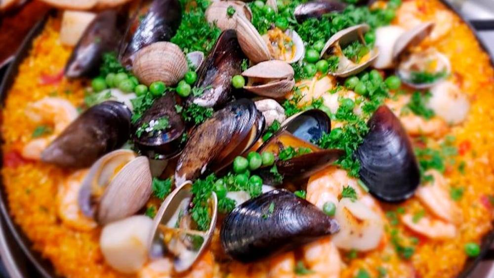 Image of Savory Seafood Paella