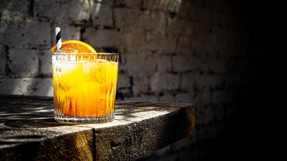 Image of Orange Marmalade Gin Cocktail
