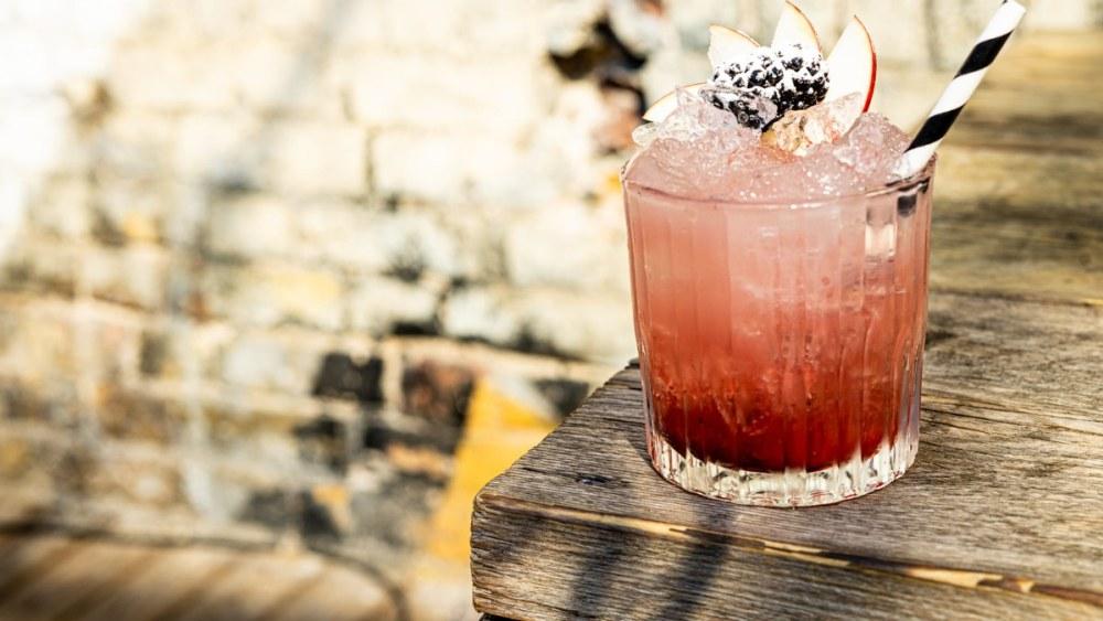 Image of Classic British Bramble Gin Cocktail