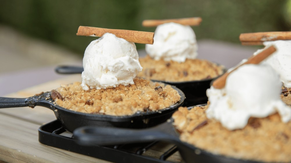 Image ofApple Crisp with Vanilla Bean Ice Cream