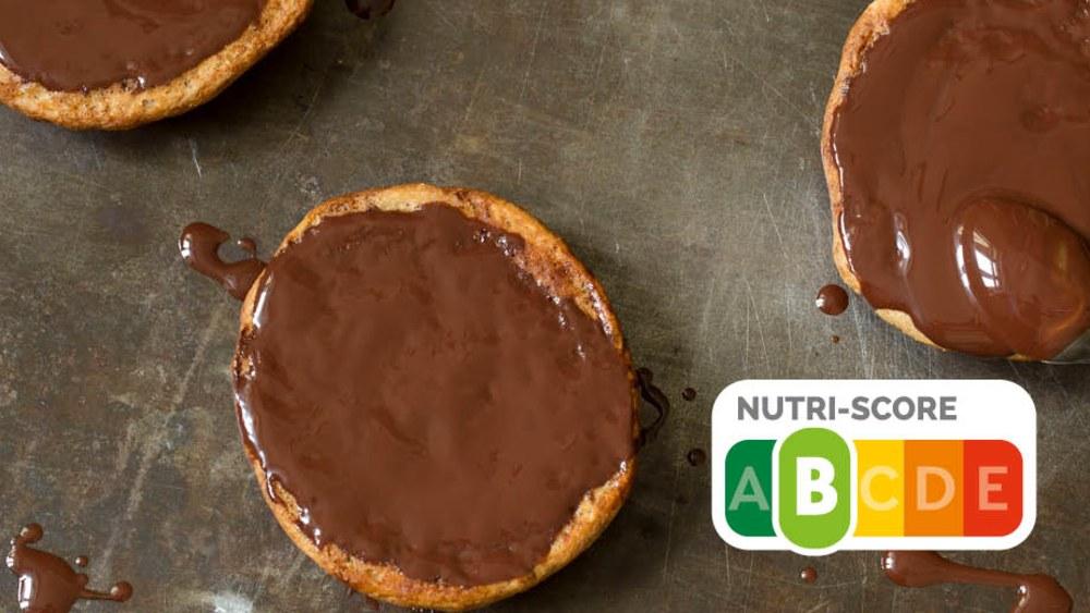 Image of Low Carb Amerikaner mit Schokolade
