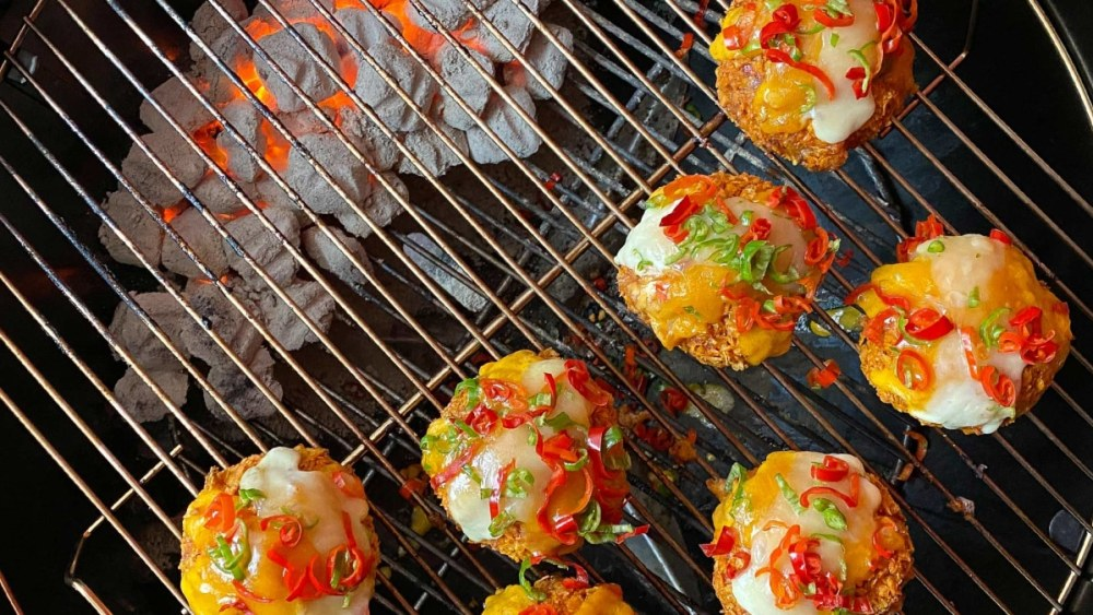Image of Nacho Crusted Beef Salsa Balls