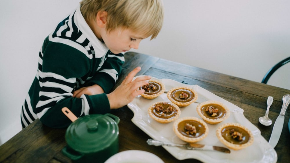 Image of Pumpkin Tartlets with Bone Broth