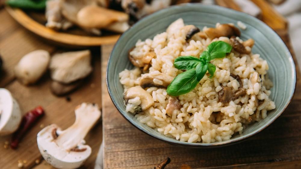 Image of Mushroom Risotto