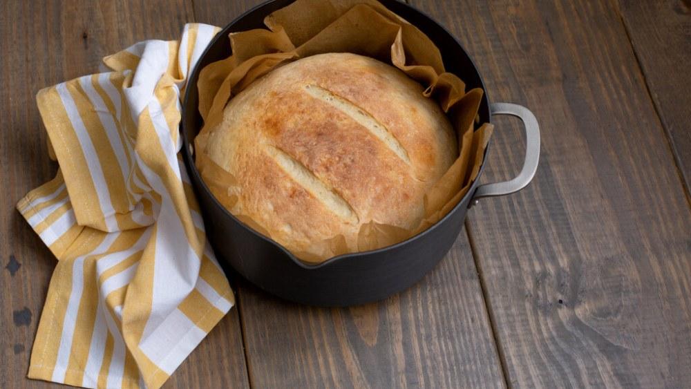 Image of Campfire Bread: Dutch Oven Campfire Bread Recipe